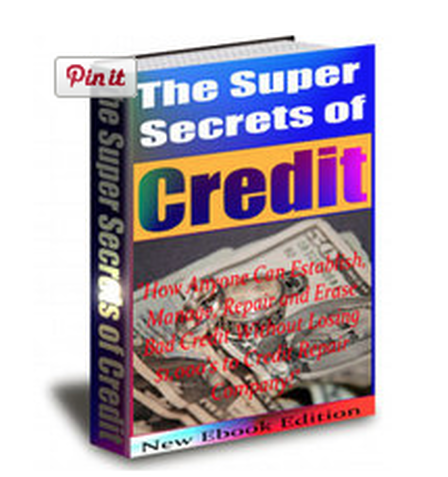 The Super Secrets Of Credit Repair